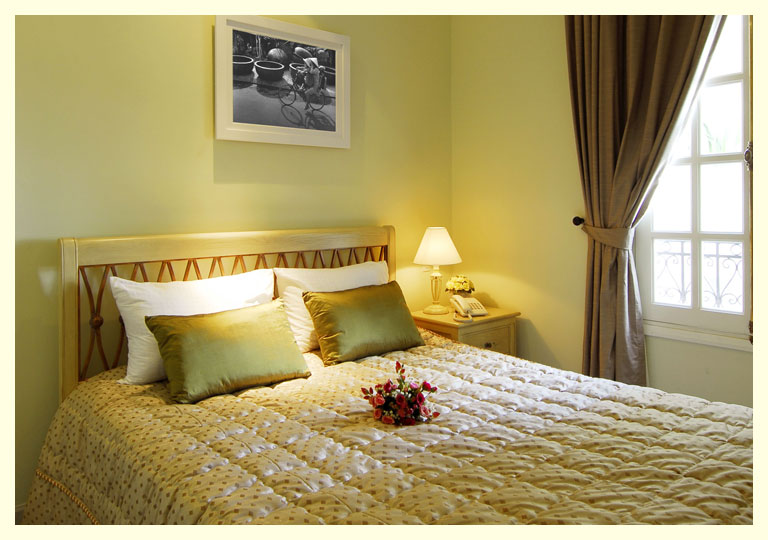 Ma Maison is a quiet idyll of a B&B outside of the downtown area that we could retreat to, after a hectic day in Saigon.